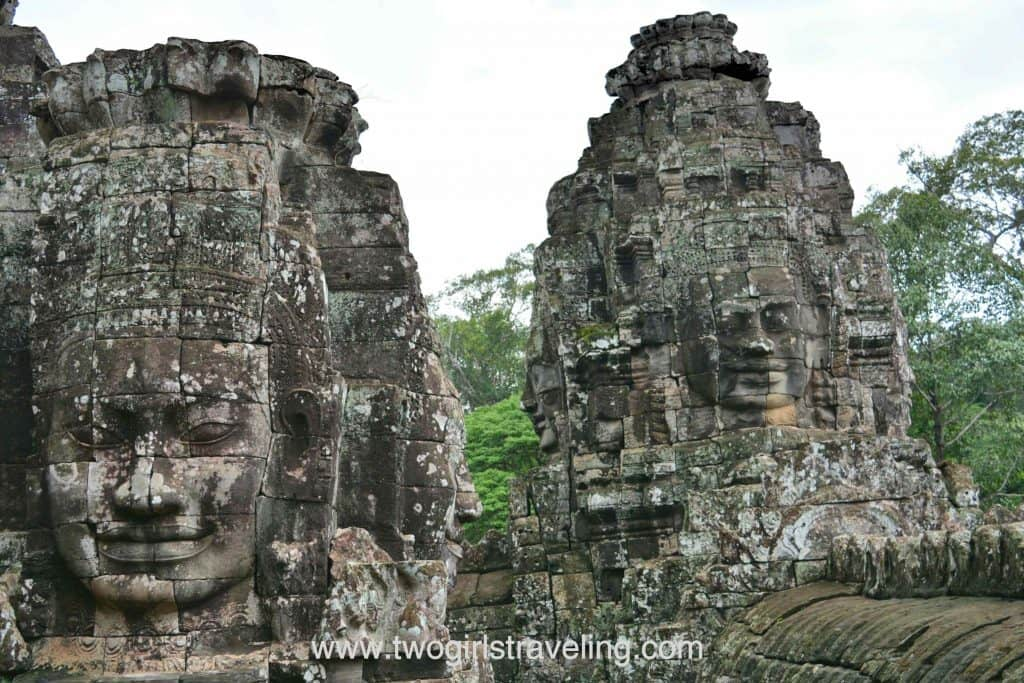 Bayon's many faces