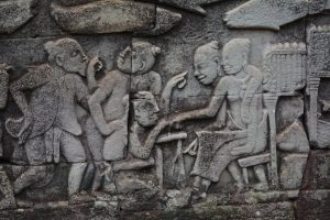 Bayon's many faces Marriage proposal