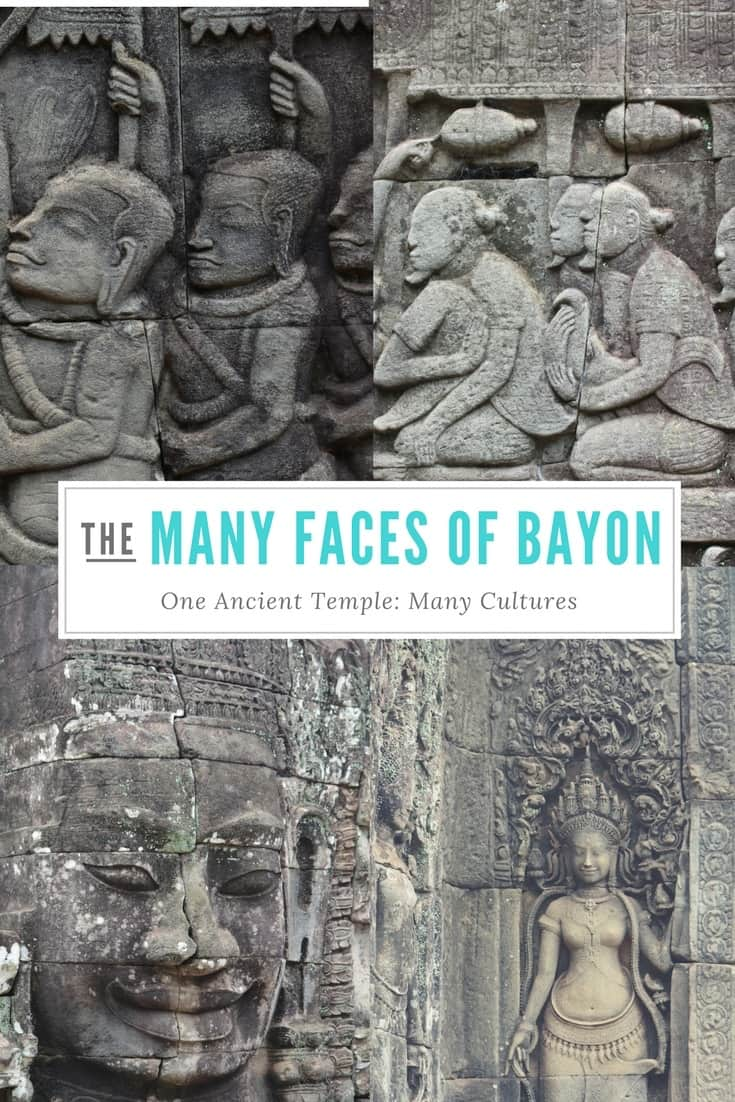 many faces of Bayon