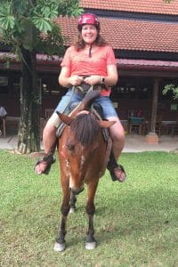 Horseback riding in Siem Reap