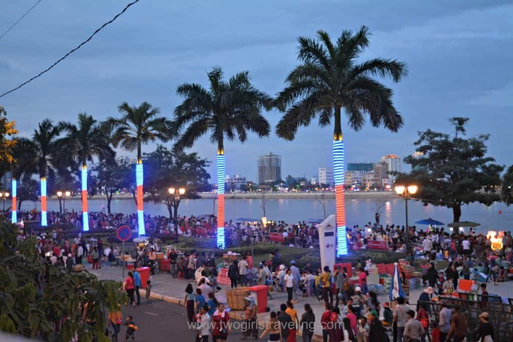 Water Festival Phnom Penh Riverfront