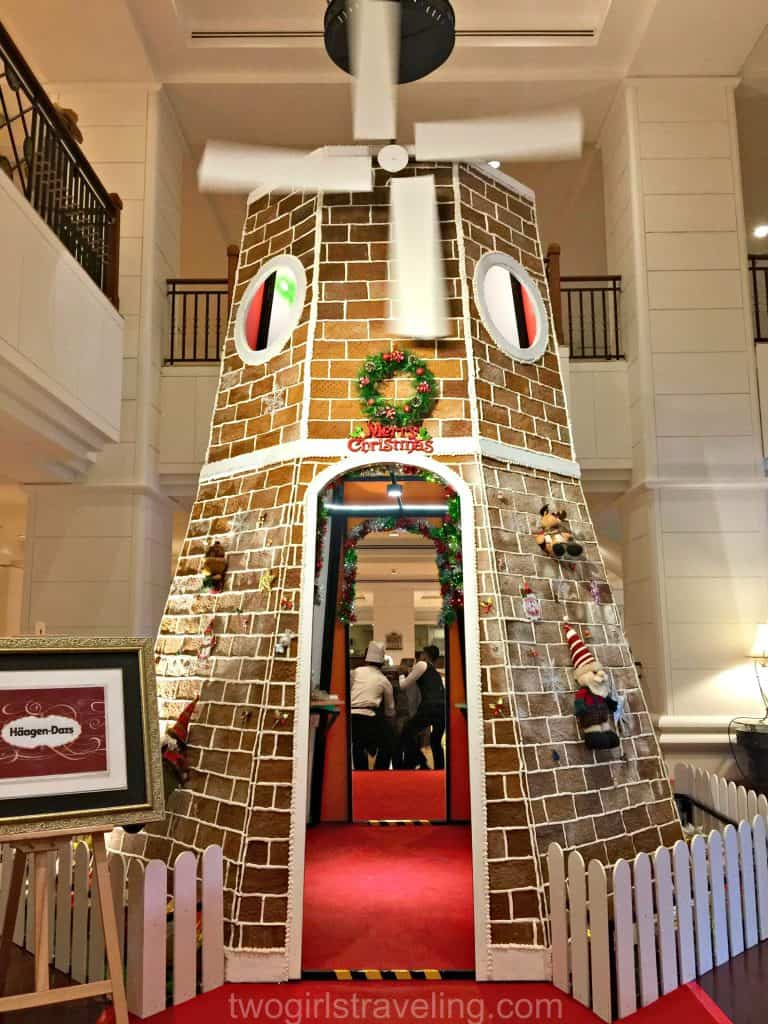 Gingerbread Windmill at the Intercontinental Hotel Phnom Penh Cambodia